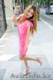 Красивое розовое платье,  новое.